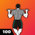 100 Pull Ups – Upper Body Workout, Men Fitness 3.0.7 APK (Premium Cracked)
