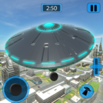 Alien Flying UFO Simulator Space Ship Attack Earth 1.4 (MOD, Unlimited Money)