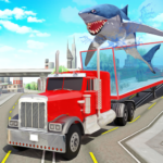 Angry Shark Sea Animal Transport Truck Driving 4.0.1 APK (Premium Cracked)