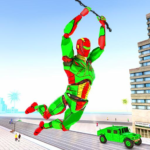 Army Robot Rope hero – Army robot games 2.2 (MOD, Unlimited Money)