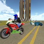 Bike Rider VS Cop Car – Police Chase & Escape Game 1.17  (MOD, Unlimited Money)