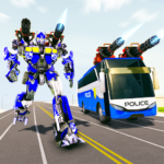 Bus Robot Car Transform War –Police Robot games 4.1 APK (MOD, Unlimited Money)