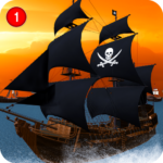 Caribbean Sea Outlaw Pirate Ship Battle 3D 1.0.3 (MOD, Unlimited Money)