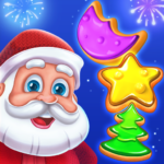 Christmas Cookie – Santa Claus's Match 3 Adventure 3.2.3 (MOD, Unlimited Money)