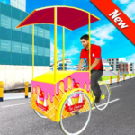 City Ice Cream Man Free Delivery Simulator Game 3D 1.0 APK (MOD, Unlimited Money)
