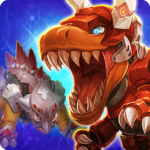 Dino King Tyranno VS Stego 1.7.7  APK (Premium Cracked)