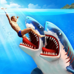 Double Head Shark Attack – Multiplayer  APK (MOD, Unlimited Money)