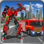 Fire Truck Real Robot Transformation: Robot Wars 79 APK (Premium Cracked)