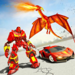 Flying Dragon Robot Car – Robot Transforming Games 2.2 APK (MOD, Unlimited Money)