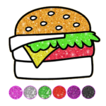 Food Coloring Game – Learn Colors 4.4 (MOD, Unlimited Money)