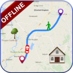 GPS Offline Navigation Route Maps & Direction 1.2.3 APK (Premium Cracked)