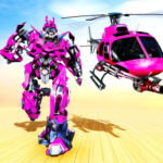 Helicopter Robot Transformation- Robot Games 3.0 APK (MOD, Unlimited Money)