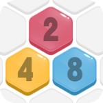 HexPop:Make number to 2.201  , Free Hexa Merge Puzzle 2.001  (MOD, Unlimited Money)