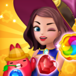 Jewel Witch – Best Funny Three Match Puzzle Game 1.8.4 (MOD, Unlimited Money)