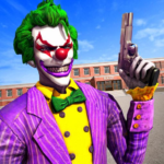 Killer Clown Bank Cash Robbery Real Gangster  (MOD, Unlimited Money) 1.0.9