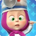 Masha and the Bear: Free Animal Games for Kids 4.0.5  (MOD, Unlimited Money)