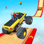 Mega Ramp Monster Truck Taxi Transport Games 1.0.9   (MOD, Unlimited Money)