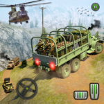Offroad Army Transporter Truck Driver: Army Games 1.6 (MOD, Unlimited Money)