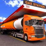 Oil Tanker Transporter Truck Games 2 1.0 (MOD, Unlimited Money)