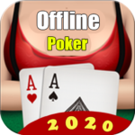 Poker Offline Free 2020 – Texas Holdem With Girl 1.9 (MOD, Unlimited Money)