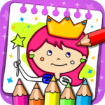 Princess Coloring Book & Games 1.42 (MOD, Unlimited Money)