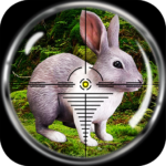 Rabbit Hunting: Sniper Safari Shooting Season 2018 1.1 (MOD, Unlimited Money)