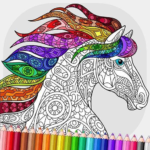 Relaxing Adult Coloring Book 2.7 (MOD, Unlimited Money)