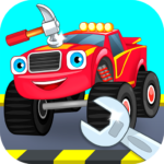 Repair machines – monster trucks 1.1.6  (MOD, Unlimited Money)