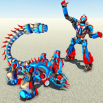 Scorpion Robot Transforming – Robot shooting games 1.1.4 (MOD, Unlimited Money)