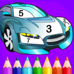Super Duper – Cars Coloring by Numbers 2.3 (MOD, Unlimited Money)