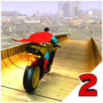 Super Hero Bike Mega Ramp 2 1.7 (MOD, Unlimited Money)