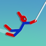 Super Hero Hook: Stickman Rope Swing 0.8 (MOD, Unlimited Money)