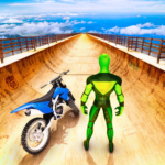 Superhero Bike Stunt GT Racing – Mega Ramp Games 1.6(MOD, Unlimited Money)