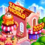 TASTY WORLD: Kitchen tycoon – Burger Cooking game 1.3.62 (MOD, Unlimited Money)