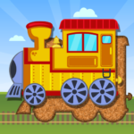 Trains Jigsaw Puzzles for Kids 3.6(MOD, Unlimited Money)