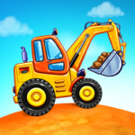Truck games for kids – build a house, car wash 5.17.1 (MOD, Unlimited Money)