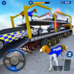 US Police Multi Level Car Transporter Truck 2020 5 (MOD, Unlimited Money)