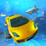 Underwater Stunts Car Flying Race 2.0 (MOD, Unlimited Money)