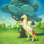 🦄🌈 Unicorn Family Simulator – Magic Horse World 1.15 (MOD, Unlimited Money)
