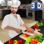 Virtual Chef Cooking Game 3D: Super Chef Kitchen 2.4.3 (MOD, Unlimited Money)