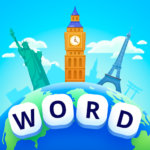 Word Travel: Pics 4 Word 1.3.1(MOD, Unlimited Money)