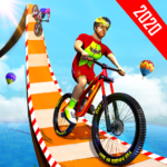 BMX Bicycle Racing Stunts- Mega Ramp Cycle Games 2.4 APK (Premium Cracked)