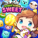 Everytown Sweet: Match 3 Puzzle 7.3(MOD, Unlimited Money)