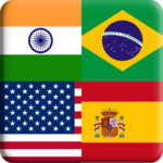Flags Quiz Gallery : Quiz flags name and color Flag 1.0.188  APK (Premium Cracked)
