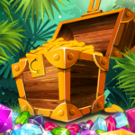 Match 3 Jungle Treasure – Forgotten Jewels 1.0.29 (MOD, Unlimited Money)