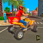 ATV Pizza Delivery Boy 1.1 (MOD, Unlimited Money)