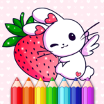 Animated Kids Coloring Book 3.3  (MOD, Unlimited Money)