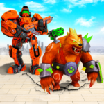 Bear Robot Car Transform: Flying Car Robot War 15.1 (MOD, Unlimited Money)