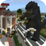 Big Godzilla Mod for MCPE 4.3 (MOD, Unlimited Money)