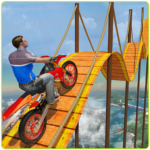 Bike Tricks Trail Stunt Master -Impossible Tracks 10  (MOD, Unlimited Money)
